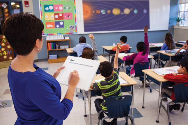Teacher tablet