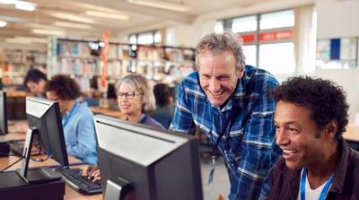 Teachers technology training