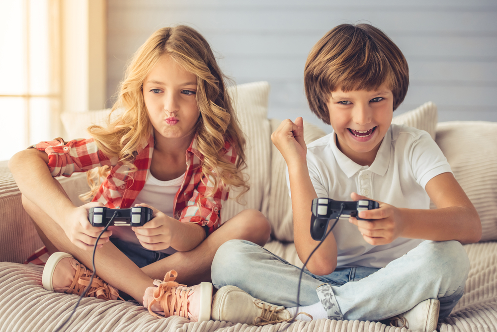 children gaming
