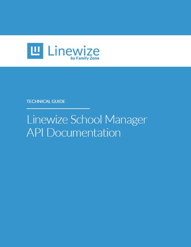 Linewize API Tech Guide Linewize
